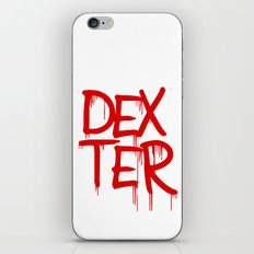 word: Dexter iPhone & iPod Skin