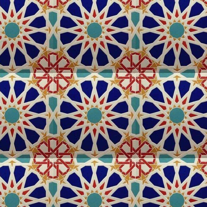 -A21- Traditional Colored Moroccan Mandala Artwork. Leggings