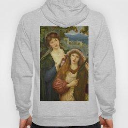 "Marie Spartali Stillman ""The Childhood of Saint Cecilia"" Hoody"