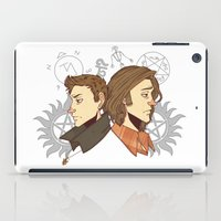 winchester iPad Cases featuring Winchester Bros by PotatoCrisp
