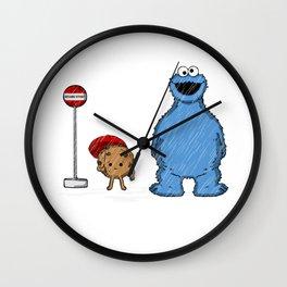 My neighbor cookie mo Wall Clock