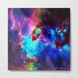 Deep Space Metal Print