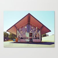 mid century Canvas Prints featuring Mid-Century Americana by Vorona Photography