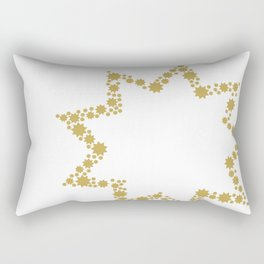 9 Points of Gold Rectangular Pillow