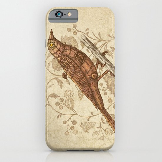 Steampunk Songbird  iPhone & iPod Case