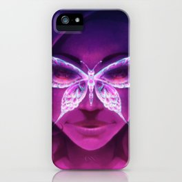 Butterfly Rash - Lupus Awareness iPhone Case