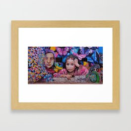 Child of Innocence - Graffiti Framed Art Print