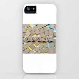 Equal (LGBTQ) iPhone Case