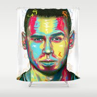 african Shower Curtains featuring African by LeRoy