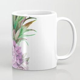 Floral Pineapple 1 Coffee Mug