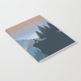 Camping spot Notebook