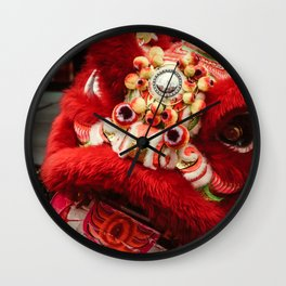 Red Lion Wall Clock
