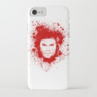 dexter iPhone & iPod Cases featuring Dexter by David