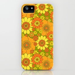 flower bunch with green base iPhone Case