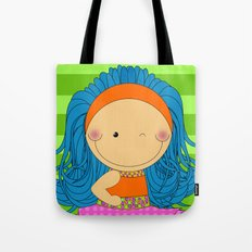 Happy Tuesday! - Fun, sweet, unique, creative and colorful, original,digital children illustration Tote Bag