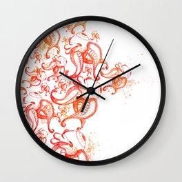 Burning up Wall Clock
