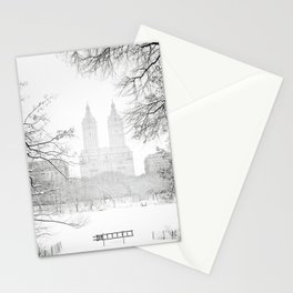 Winter - Central Park - New York City Stationery Cards