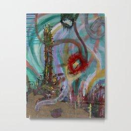Anchor Roots Metal Print