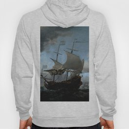 "Willem van de Velde ""The Dutch Fleet Assembling"" Hoody"