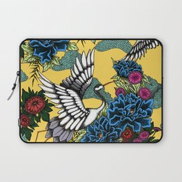 Cranes (Blue) Laptop Sleeve
