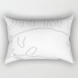WORKIN' ON MY BODE Rectangular Pillow