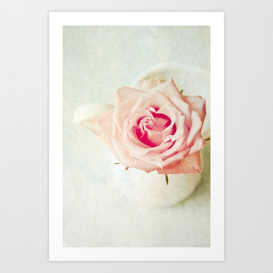 The Rose [Textured] Art Print