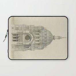 Church of St. Augustine Paris Laptop Sleeve