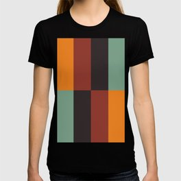 Stripes and swatches T-shirt
