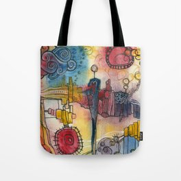 Place I Once Knew Tote Bag