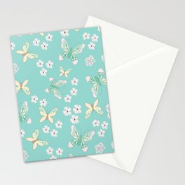 Petite Butterflies Stationery Cards