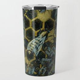 The Golden Hive Travel Mug