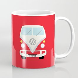 Surf's Up Minimal Bus Coffee Mug