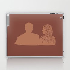 What We Don't Know Is Whether We Really Hate One Another -A Married Couple Laptop & iPad Skin