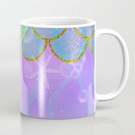 Mermaid Iridescent Shimmer Coffee Mug