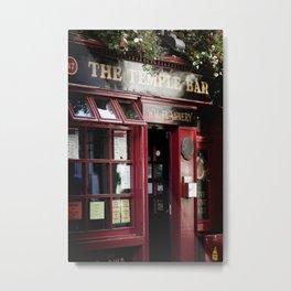... temple bar ... Metal Print