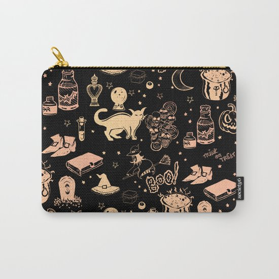 Halloween Print Carry-All Pouch