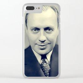 Jack Benny, Vintage Entertainer Clear iPhone Case