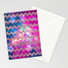 Glitter Space 7 - for iphone Stationery Cards