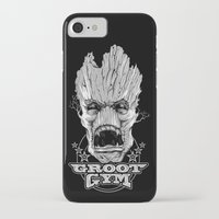 gym iPhone & iPod Cases featuring GROOT GYM by ADAMLAWLESS