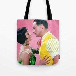 Gene Kelly & Cyd Charisse - Pink - Singin' in the Rain Tote Bag
