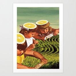 born bitter as a lemon  Art Print