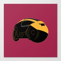 tron Canvas Prints featuring Tron by FilmsQuiz