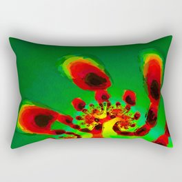 Life Begins. Abstract Art by Tito Rectangular Pillow