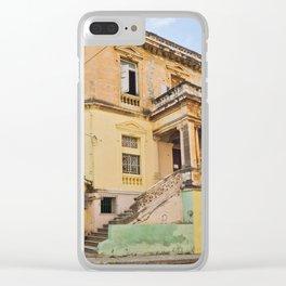 Cuba Funky House Havana Architecture Old Building Cuban Island Urban City Spain Colorful Clear iPhone Case