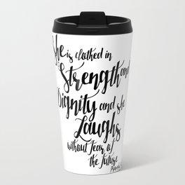 She is ... Travel Mug