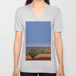 Twilight in the Desert Unisex V-Neck