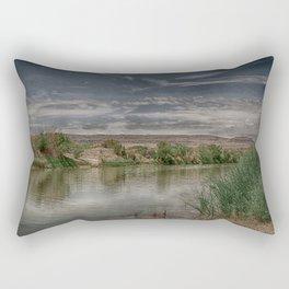 Sleepy Rio Grande Rectangular Pillow