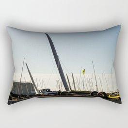 Sailboats Chars à voile Rectangular Pillow