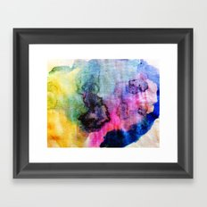 The Colour Game Framed Art Print