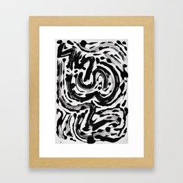 Pattern № 61 Framed Art Print